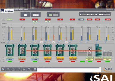 Sipar Gerdau – Actualización Tren de Laminación A