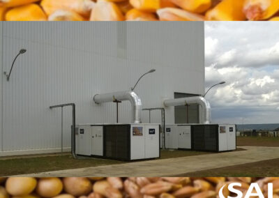 Syngenta Seed – Enfriamiento controlado de granos